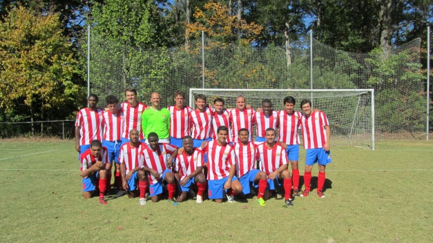 (VaHi ATLetic FC 12-13 TEAM PHOTO AND NEW JOMA UNIFORMS)